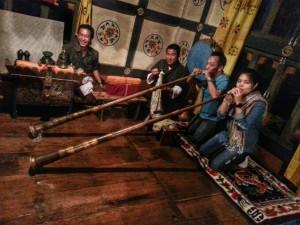 Bhutanese Farm House