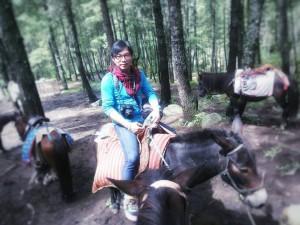 Horse Riding in Bhutan