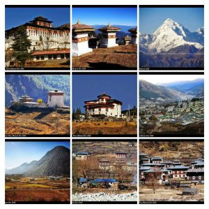 Bhutan Beautiful places