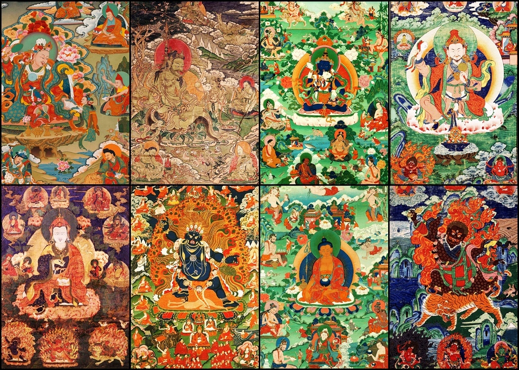 8 Manifestations of Guru Rinpoche