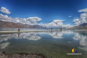 India Ladakh Pangong Lake