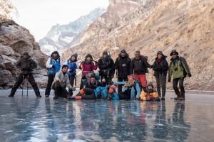 Chadar Trek group photo1
