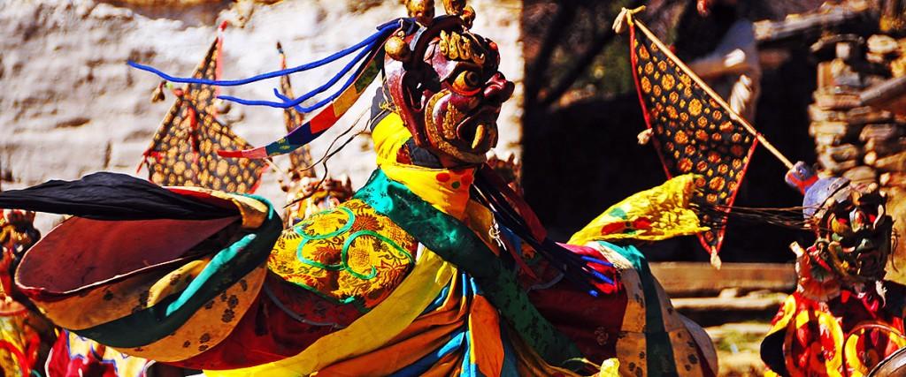 Bhutan Mask Dance Tsechu