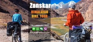Men riding to Zanskar Valley
