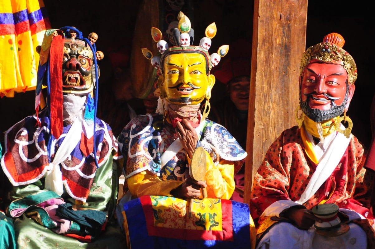 Bhutan Tsechu Mask Dance