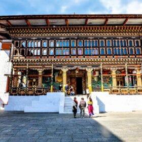 Bhutan Thimphu Tachicho Dzong
