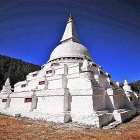 hutan Trongsa Chendebji Stupa