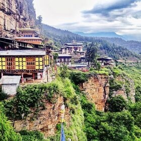 hutan Dzongdrakha Lhakhang