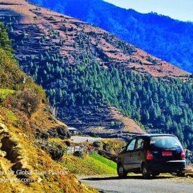 Bhutan Phojikha-to-Trongsa