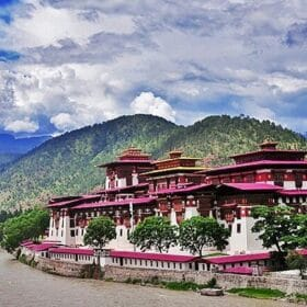 Bhutan ป้อมภูฏาน Punakha Dzong