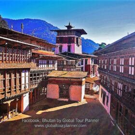 Bhutan Trongsa-Dzong