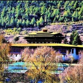 Bhutan Haa Valley Wangchuk Lop Dzong