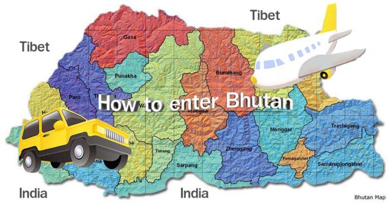 วิธีการเดินทางเข้าภูฏาน How to enter Bhutan
